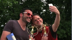 Thomas Guichard et Sébastien Dupuis, champions de France net et brut en 2ème série Hommes